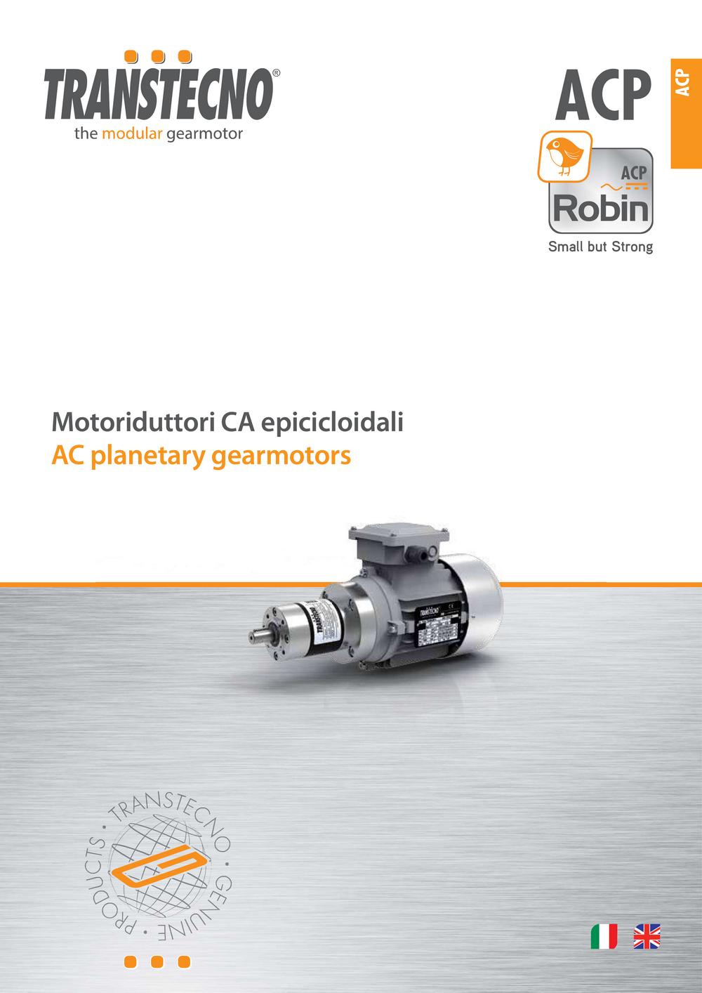 Планетарный мотор-редуктор ACP.