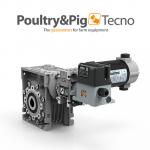 Специальная серия мотор-редукторов для систем кормораздачи Poultry&Pigtecno
