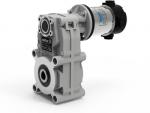 Мотор-редуктор с параллельными валами серии NDFT