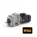 Соосныe мини мотор-редукторы серии CMG с защитой IP66