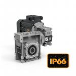 Червячные двухступенчатые мини мотор-редукторы серии CMM с защитой IP66