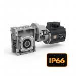 Цилиндро-червячные мини мотор-редукторы серии CMP с защитой IP66