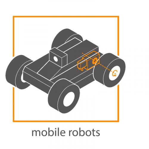 Мотор-редуктор мобильная техника.