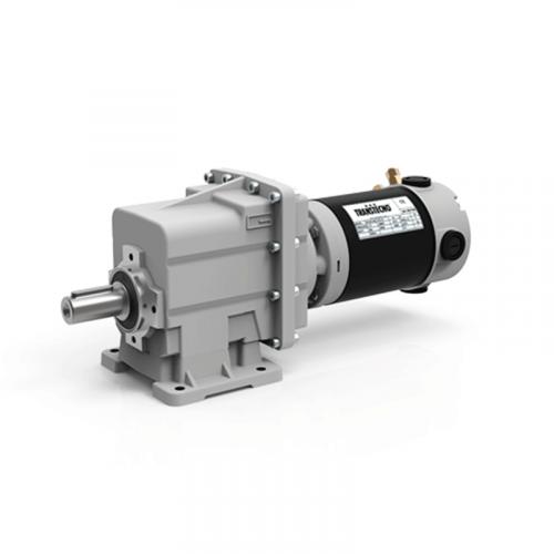 Соосный цилиндрический мотор-редуктор серии ECMG.
