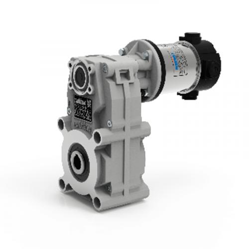 Мотор-редуктор с параллельными валами серии NDFT.
