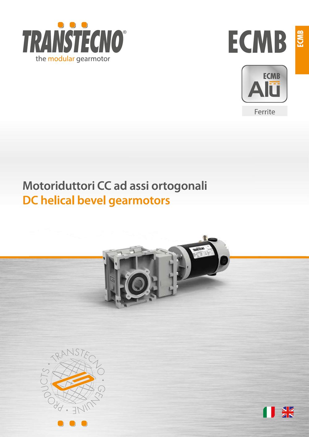 Коническо-цилиндрические мотор-редукторы серии ECMB.