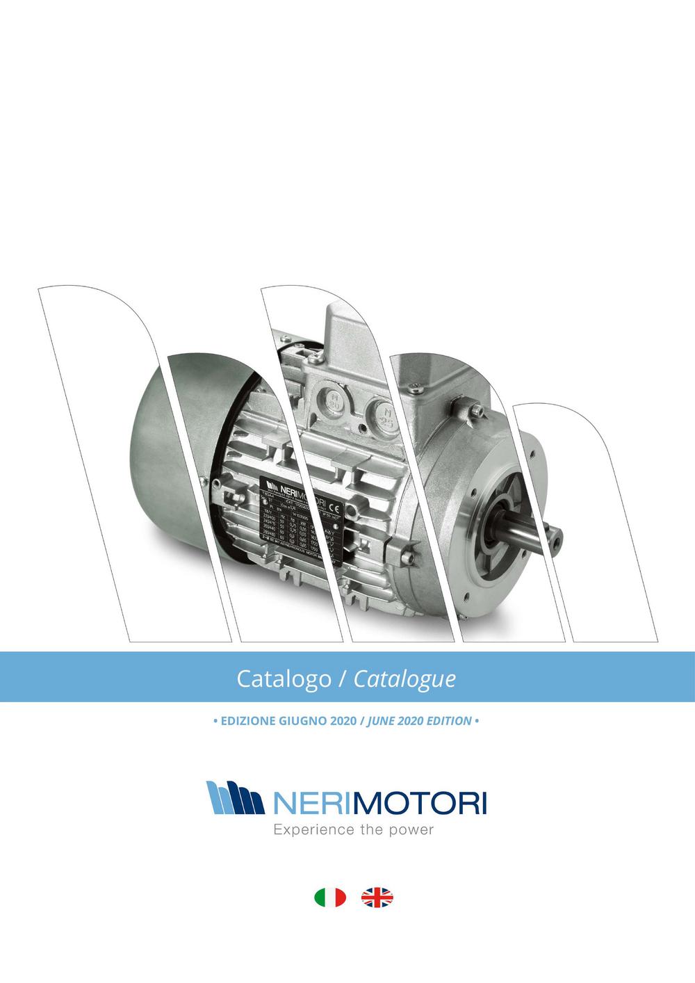 Электродвигатели Neri Motori.